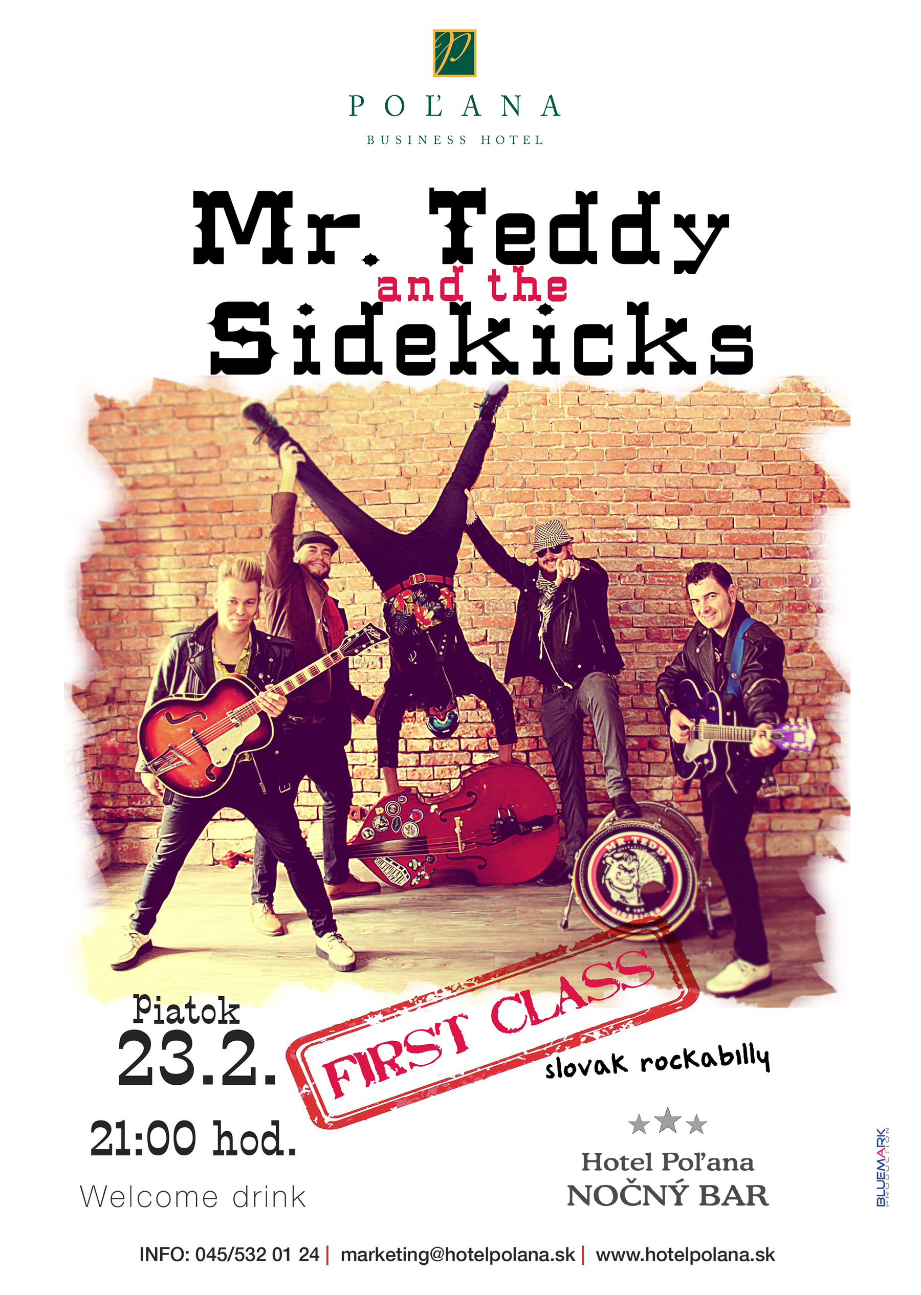 Mr. Teddy and the Sidekicks-graphic